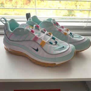 Nike air max 98 teal tint women 9.5
